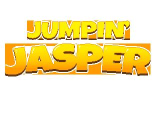Jumpin' Jasper title graphic