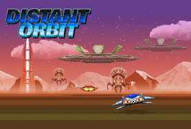 Graphic for Distant Orbit