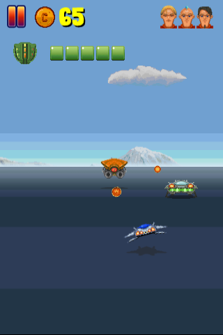 HTML5 arcade game screenshot