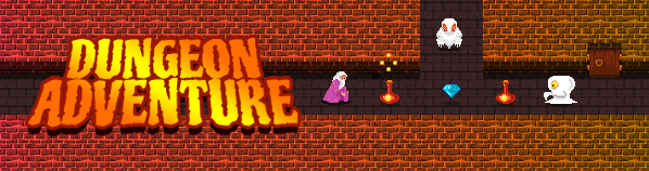 Dungeon Adventure game banner