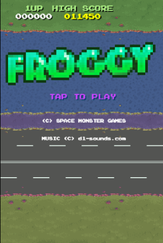 Froggy screenshot