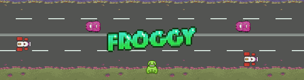 Froggy game banner