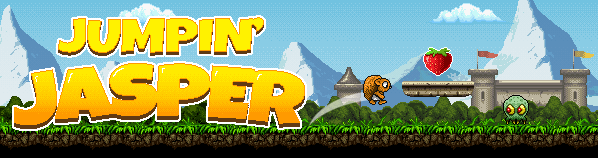 Jumpin' Jasper game banner