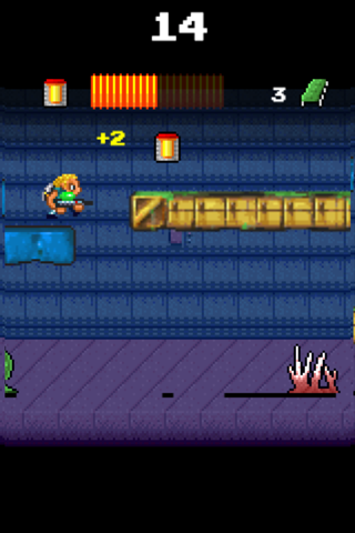 Kyle Comet and the Lost Base screenshot