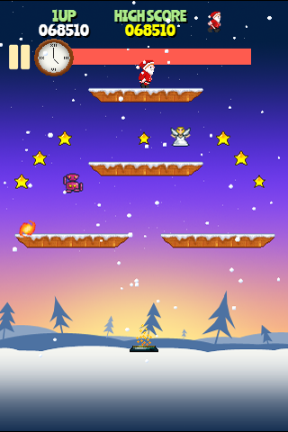 Rocket Santa screenshot